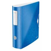 Biblioraft Leitz 180 Active WOW, polyfoam, A4, 82 mm, albastru