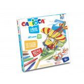 Set articole creative CARIOCA Create & Color - JET JUNIOR 3D