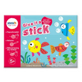 "Carte creativa Stick""n Give it a Stick - cercuri (+5 ani)"
