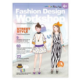 "Carte creativa Stick""n Little Designer Activity book - Street Style"