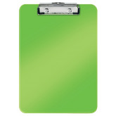 Clipboard LEITZ WOW, simplu, PS, A4, 100 coli, verde
