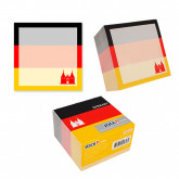 "Cub notes autoadeziv 70 x 70 mm, 400 file, Stick""n Germany - alb"