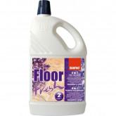 Detergent pentru pardoseli, curata si parfumeaza, 2 litri, SANO Floor Fresh - lavanda si liliac
