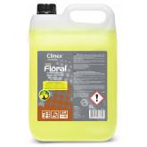 Detergent lichid pentru curatarea pardoselilor, 5 litri, Clinex Floral Citro