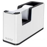 Dispenser banda adeziva LEITZ WOW, PS, banda inclusa, culori duale, alb-negru