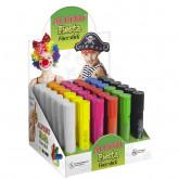 Display creioane pentru machiaj, 6 x 6culori/display, ALPINO Fiesta - Classic colours