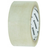 Banda adeziva 48mm x 66 m, 46 microni, pe baza de solvent, DONAU - transparent