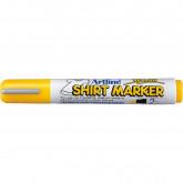 T-Shirt marker ARTLINE, corp plastic, varf rotund 2.0mm - galben