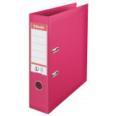 Biblioraft Esselte No.1 Power, PP/PP, A4, 75 mm, fuchsia