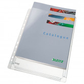 Folie de protectie LEITZ Jumbo, PVC, A4, 170 mic, 5 buc/set, standard