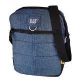 Geanta tableta CATERPILLAR Millennial Classic - Ryan, material 600D HD polyester - negru/bleumarin
