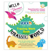 "Carte educativa Stick""n Tracing Work Book - Jurassic World"