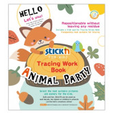 "Carte educativa Stick""n Tracing Work Book - Animal Party"