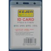 Suport PP water proof, pentru carduri,  74 x 105mm, orizontal, 5 buc/set, KEJEA - transparent