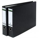 Biblioraft LEITZ 180, carton, A3 landscape, 80 mm, negru