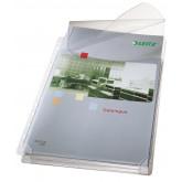 Folie de protectie LEITZ Jumbo, cu clapa, PVC, A4, 170 mic, 5 buc/set, standard