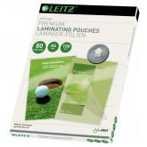 Folie LEITZ UDT pentru laminare la cald,  A4, 80 microni 100 folii/top