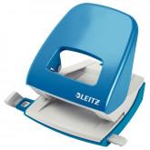 Perforator metalic LEITZ 5008 NeXXt Series, 30 coli, albastru-deschis