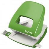 Perforator metalic LEITZ 5008 NeXXt Series, 30 coli, verde-deschis