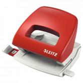 Perforator plastic LEITZ 5038 NeXXt Series, 16 coli, rosu