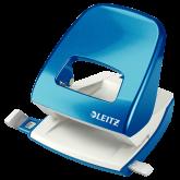 Perforator metalic LEITZ WOW 5008 NeXXt Series, 30 coli, albastru