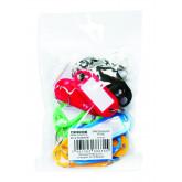 Etichete pentru chei,  20/set,  Office Products - culori asortate
