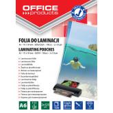 Folie pentru laminare,    A6 125 microni 100buc/top Office Products