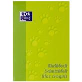 Blocnotes A4, OXFORD, 100 file - 90g/mp, pentru desenat - velin