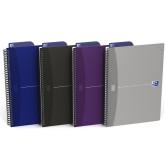 Caiet cu spirala B5, OXFORD Office Essentials, 90 file - 90g/mp, Scribzee, coperta carton - punctat