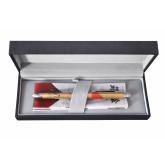 Pix multifunctional de lux PENAC Maki-E - Mount Fuji, in cutie cadou, corp auriu