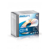 CD-R 700MB-80min  Slimcase, 52x, PHILIPS