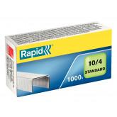 Capse RAPID Standard 10/4, 1000 buc/cutie