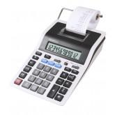 Calculator cu banda, 12 digits, 219 x 154 x 58 mm, Rebell PDC 20 - alb/negru