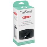 Rezerva filtru DuPont, pre-Carbon, pentru purificator LEITZ TruSens Z-1000, 3 buc/set, negru