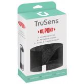 Rezerva filtru DuPont, Carbon, pentru purificator LEITZ TruSens Z-2000, 3 buc/set, negru
