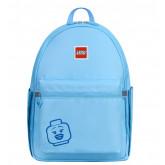 Rucsac Casual LEGO Tribini Joy Large - design Emoji - albastru pastel