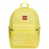 Rucsac Casual LEGO Tribini Joy Small - design Emoji - galben pastel