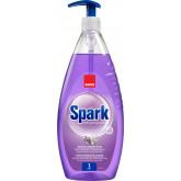 Detergent lichid pentru degresarea vaselor,1 litru, SANO Spark - cu miros de lavanda