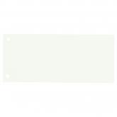 Separatoare carton pentru biblioraft, 190g/mp, 105 x 240 mm, 100/set, OXFORD - alb