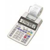 Calculator cu banda, 12 digits, 230 x 150 x 52 mm, SHARP EL-1750V - alb