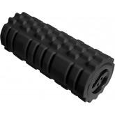 Suport pentru picioare, ergonomic, clindric cu striatii, UNILUX Roller - negru