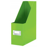 Suport vertical LEITZ WOW Click & Store, pentru documente, carton laminat, A4, verde