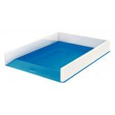 Tavita documente Leitz WOW, PS, A4, culori duale, alb-albastru