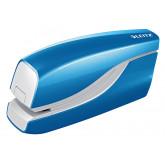 Capsator electric LEITZ Wow cu baterii NeXXt Series, 10 coli - albastru metalizat