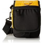 Geanta tableta CATERPILLAR Millennial Classic - Ronald, material 600D HD polyester - negru cu galben
