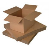 Cutii pliate din carton CO3 , dimensiuni 350x250x250 mm , 25 buc/set
