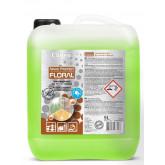 Detergent lichid pt. curatare pardoseli, cu particule de silicon, 5 litri, Clinex Nano Protect Flora