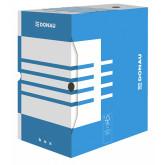 Cutie arhivare 200mm, carton 390gsm, DONAU - albastru/alb