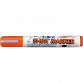 T-Shirt marker ARTLINE, corp plastic, varf rotund 2.0mm - portocaliu