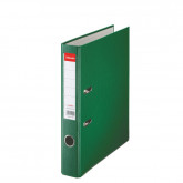 Biblioraft ESSELTE Economy, A4, plastifiat PP, margine metalica, 50 mm - verde